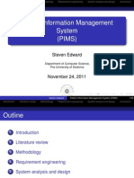 Patient Information Management System (PIMS)