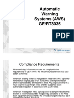 Automatic Warning System (AWS) [Compatibility Mode]