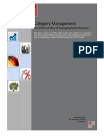 Category Management. the Effective Way of Managing Retail Business