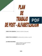 GATASHO PLAN DE ALFABETIZACIÓN