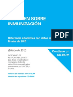 UNICEF 2012ed Immunization Summary (Spanish)