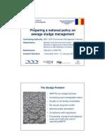Developing National Strategy on Sludge Management Presentation 13Jun11