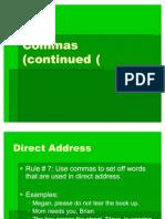 Commas (Rules 7-8)