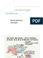 Fluid and Electrolyte Imbalance 2A