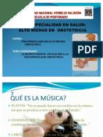 MUSICOTERAPIA Y EMBARAZO