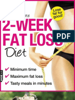 The Ultimate 2 Week Fat Loss Diet