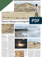 Nuevos Descubrimientos Arqueológicos en Vichama, civilización Caral 4,200 años de antigüedad, Perú