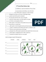 8th Grade Floor Hockey Quiz 2
