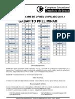 GabaritoSimuladoOAB20111[1][1]