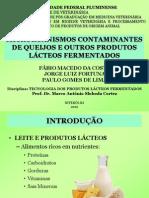 Microrganismos contaminantes de queijos e produtos lácteos fermentados