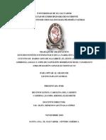 Estudio fonético-fonológico de la narrativa salvadoreña Salarrué, Arturo Ambrogi, Napoleón Rodríguez Ruiz y Ramón González Montalvo