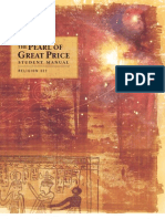 religion 327, pearl of great price student manual