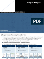 Morgan Keegan Tech Market Review q3 2011