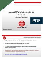 Manual Para Liberacion de Equipos Actualizado 2012 v2