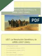 La revolución soviética y la URSS 1º Bach