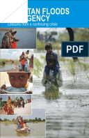 Pakistan Floods Emergency: Lessons from a continuing crisis
