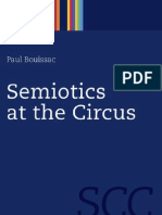 Semiotics at the Circus Semiotics Communication and Cognition
