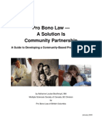 PRO BONO Partnership_guide