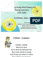 Teaching Songs and Poetry for Young Learners