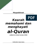 MUQADDIMAH Zilal -Syarah Dan Edited 2009