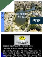 Geografia - Urbanização Brasileira