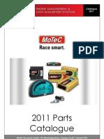 2011 MoTeC Catalog