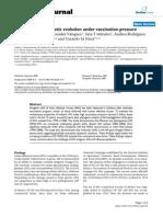 Avian Influenza Evolution Uder Vaccination Pressure