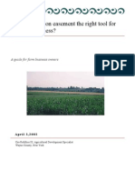 Is a conservation easement the right tool for my farm business