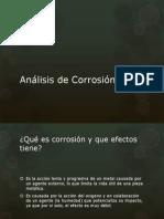 Análisis de Corrosión