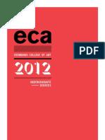 Test Eca Ug Prospectus 2012
