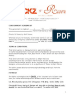 consignment agreement draft