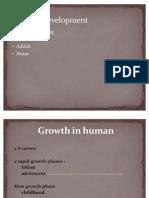 Growth in Human-child Development