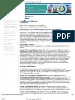 2011 Press Release - April 20, 2011