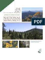 Cascade-Siskiyou National Monument Brochure