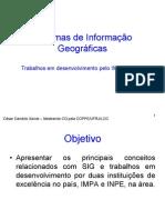 Sistemas de Informacao Geografica 3
