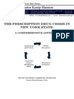 Prescription Drug Abuse Crisis in NYS - Comprehensive Approach