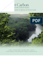 Forest Carbon in the United States - 2007 Updated Edition