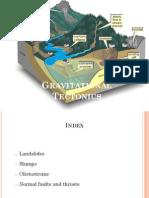 Gravitational Tectonics