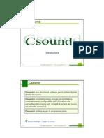 Csound 1(Intro)
