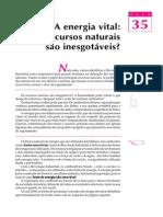 (2) 35 - A energia vital - os recursos naturais são inesgotáveis