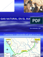Perspectivas de Desarrollo de Gas Natural en el Sur del Perú