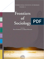 Hedström y Wittrock (eds.) (2009) - Frontiers of Sociology