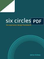 Six Circles - an experience design framework