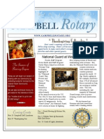 Newsletter - Nov 18 2008