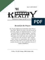 Radiant Reality Islamic Newsletter Sept-2009