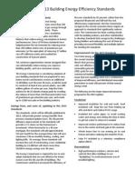 2013 Building Standards FactSheet 02-13-2012
