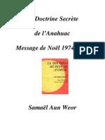 1974 La Doctrine Secrete de l Anahuac