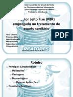 Reator Leito Fixo (PBR)