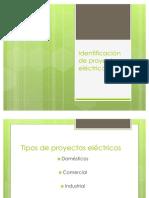 Identificación de proyectos eléctricos