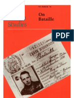 On Bataille Yale French Studies 78